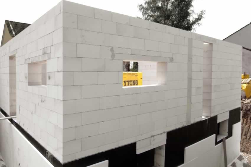 193 Как построить дачный дом из газобетона